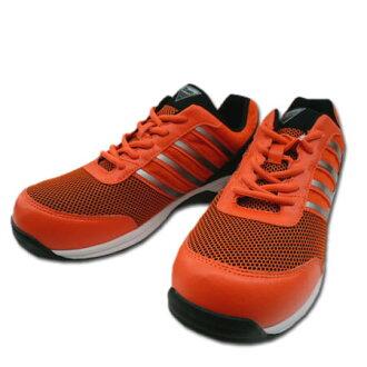 安全鞋安全运动鞋小型三桅船桅 85132 高级网树脂的核心安全运动鞋男子和妇女和妇女-23.0 29.0 厘米橙色 05P19Dec15