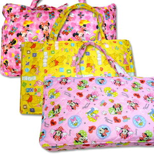 お昼寝布団 保育園 ディズニー(ミニー、プーさん、デイジーミニー) お昼寝布団セット かわいい カバー 紐タイプ ベビー布団 ピンク イエロー