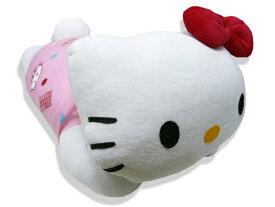 ぬいぐるみ インテリアとしても…☆ ハローキティー◆枕 抱き枕 キティ 約42×22cm