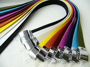 コットン カラーベルト ローラー 綿製 ベルト 作業用ベルト Lサイズ 色柄おまかせ