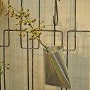 アルミ ウォールハンガー < チューブ >/ ハンギング ドライフラワー 一輪挿し ガーデニング 壁掛け 小物収納(KMN-078)