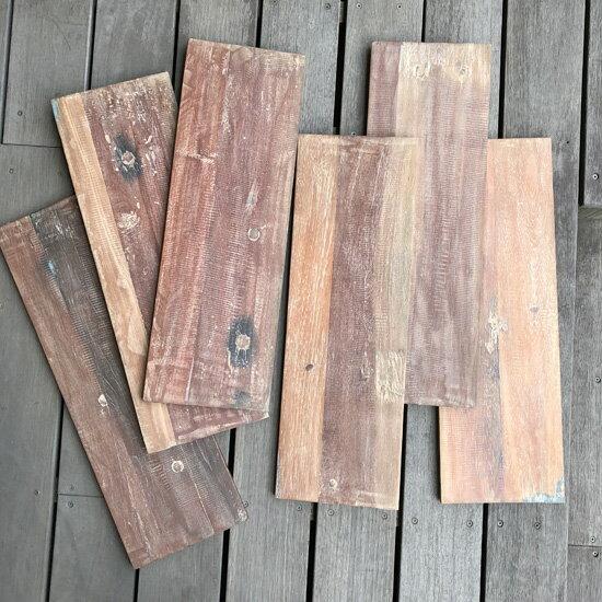 古材 ボード (ホワイト) 棚板 - 600mm DIY 自作棚 板 ナチュラルインテリア 北欧 自然素材 (WD-014W)