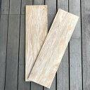 チークボード (ウォッシュド ホワイト) 棚板 - 850mm / DIYで作る棚 ナチュラルインテリア 壁付け板 自作棚 北欧 アジアン 高級木材(WD-013W)