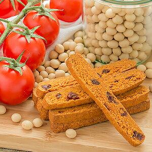 豆乳おからクッキー カリッとハード食感 トマト ビスコッティ バター マーガリン 卵 牛乳 不使用 保存料 香料 無添加