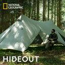 ナショナル ジオグラフィック (National Geographic) HIDEOUT テント シェルター キャンプ アウトドア ニューテックジ…