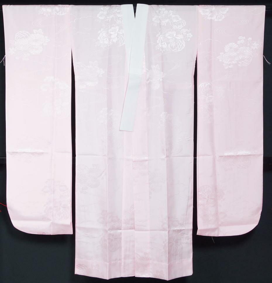 新品 振袖用 長襦袢 地柄おまかせ Lサイズ (裄67cm 袖丈113cm) ポリエステル100% 単衣仕立て(袖は無双) 洗える襦袢 プレタ長襦袢 振袖 成人式A