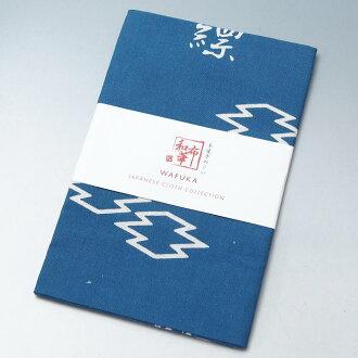 "本染色手巾(5)日本制造""WAFUKA-JAPANESE CLOTH COLLECTION""★[再利用和服、再利用和服、复古的和服、和服买进的专营商店、risai kimono二手货]"