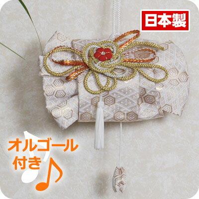 日本帯飾り 立て矢アレンジ / オルゴール入り (さくらさくら) / 吊り飾り / インテリア / 日本製 和雑貨