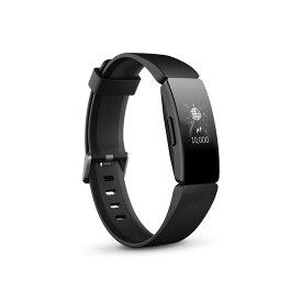 ● Fitbit InspireHR フィットネストラッカー Black L/Sサイズ FB413BKBK-FRCJK