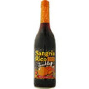 ポレール サングリア リコ スパークリング 赤ワイン&オレンジ 600ml