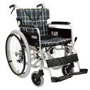 【条件付き送料無料】【ノーパンクタイヤ】車椅子 車イスアルミ自走式車いすカワムラサイクル BM22-40(38・42)SB-LO(M)ソフトタイヤ仕様