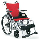 車椅子 軽量 自走式【ノーパンクタイヤ】カワムラサイクルBML22-40SB 中床ソフト軽量タイヤ【条件付き送料無料】