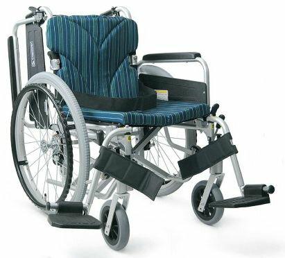 車椅子 自走式カワムラサイクルKA822-40(38・42)B-M 中床【条件付き送料無料】