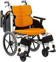 車椅子 介助式 軽量 スリム ノーパンクタイヤ仕様 松永製作所 NEXT-61B ネクストコア・アジャスト NEXT CORE 【法人様受取り 送料無料】