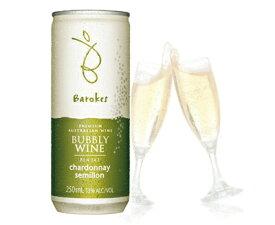 バロークス プレミアム缶ワイン スパークリング 白 250ml 1本バラ売りパッケージデザインが異なる場合があります