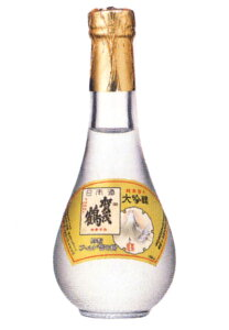 特製 ゴールド賀茂鶴 大吟醸・純金箔入 180ml詰 丸瓶 日本酒 金箔入り