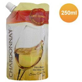 【対象のパック・缶ワイン 24本以上同時購入で送料無料】プレタボアール 【白】 シャルドネ 250ml 白ワイン 携帯便利なパックワイン 旅行・バーベキューにも! [メール便発送規格外商品です]【あす楽対応】BBQ