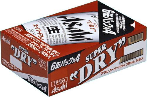 【送料無料】重いビールは通販が便利♪アサヒ スーパードライ350ml 24本(ケース販売)【母の日ギフト 御祝 内祝 出産 御礼 お供え】【あす楽対応】