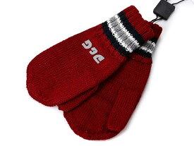 D&G JUNIOR Jr ディー&ジー ジュニア ミトン手袋 ニット手袋 LB2019 OL82H R0046 レッド S Mサイズ ジュニアサイズ 子供用【送料無料 並行輸入品】