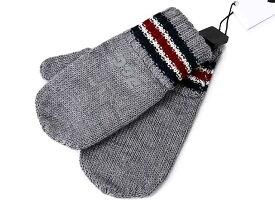 D&G JUNIOR Jr ディー&ジー ジュニア ミトン手袋 ニット手袋 LB2019 OL82H S8290 グレー S Mサイズ ジュニアサイズ 子供用