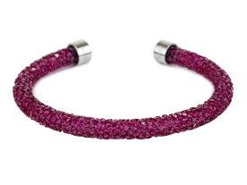 SWAROVSKI スワロフスキー ブレスレット 5273636 Pink ピンク Crystaldust バングル レディース 【送料無料 並行輸入品】