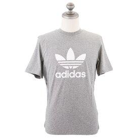 adidas Originals アディダス オリジナルス 半袖Tシャツ CY4574 Trefoil T-Shirt メンズ レディース 男女兼用 ユニセックス トレフォイル クルーネック Medium Grey ミディアムグレー XS-XL 【送料無料 並行輸入品】