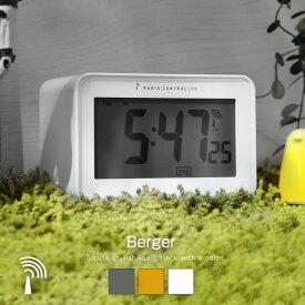 電波時計 置き時計 デジタル時計 自動時刻設定 自動補正 温度計付 目覚まし時計 アラームクロック 卓上時計 カレンダー付き 温度計 バックライト スヌーズ 電波クロック アラーム時計 卓上 スヌーズ機能 24時間表示 テーブルクロック 12時間表示 電池式 おしゃれ