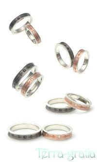 ペアリング刻印シルバーダイヤモンドシンプルブラックカラーピンクゴールドカラー上品おしゃれ指輪マリッジリング結婚指輪Silver925送料無料2本セット価格