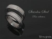 ペアリング刻印ステンレス幅広スティールシルバーカラーシンプルおしゃれ回転式指輪マリッジリング結婚指輪サージカルステンレス316Lノンアレルギー金属アレルギー対応送料無料2本セット価格