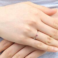 リング指輪レディース選べる12誕生石シルバーピンクシルバー一粒天然石シンプルアクアマリンルビーサファイアエメラルド