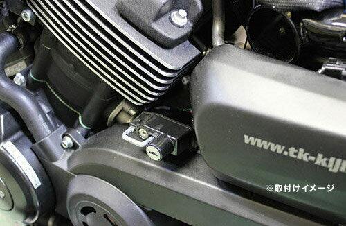キジマ(KIJIMA) ハーレーXG750(Street750)用 ヘルメットホルダー(ヘルメットロック) HD-05145