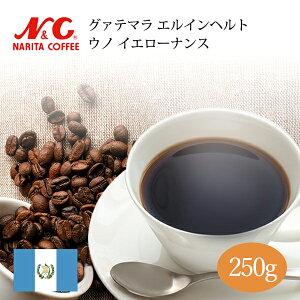 自家焙煎 コーヒー豆 250g (約17-25杯分)グァテマラ エルインヘルト ウノ イエローナンス豆のまま/挽き 選べます【 スペシャルティコーヒー 】 N&C 成田珈琲 姫路