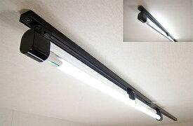 KRS-1A-BK-SET-N カメダデンキ カメダレールソケットS 昼白色LEDランプセット 配線ダクト用LEDベースライト1灯タイプ [LED昼白色][ブラック] あす楽対応