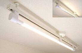 KRS-1A-WH-SET-L カメダデンキ カメダレールソケットS 電球色LEDランプセット 配線ダクト用LEDベースライト1灯タイプ [LED電球色][ホワイト] あす楽対応