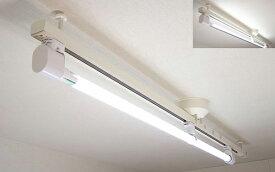 KRS-1A-WH-SET-N カメダデンキ カメダレールソケットS 昼白色LEDランプセット 配線ダクト用LEDベースライト1灯タイプ [LED昼白色][ホワイト] あす楽対応