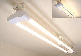 KRS-2A-WH-SET-L カメダデンキ カメダレールソケットW 電球色LEDランプセット 配線ダクト用LEDベースライト2灯タイプ [LED電球色][ホワイト] あす楽対応