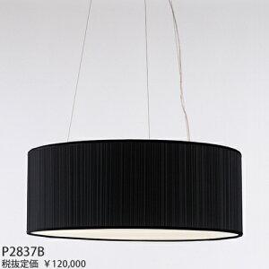 P2837BヤマギワBAUMNバウムワイヤー吊ペンダント[白熱灯][ブラック]