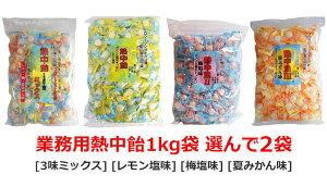 熱中飴 業務用1Kg袋 ×[2袋]■井関食品