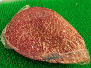 黒毛和牛 カメノコ 400g 冷蔵管理の牛肉 【ローストビーフ用 ブロック】牛肉 焼き肉 ■なんば屋精肉店