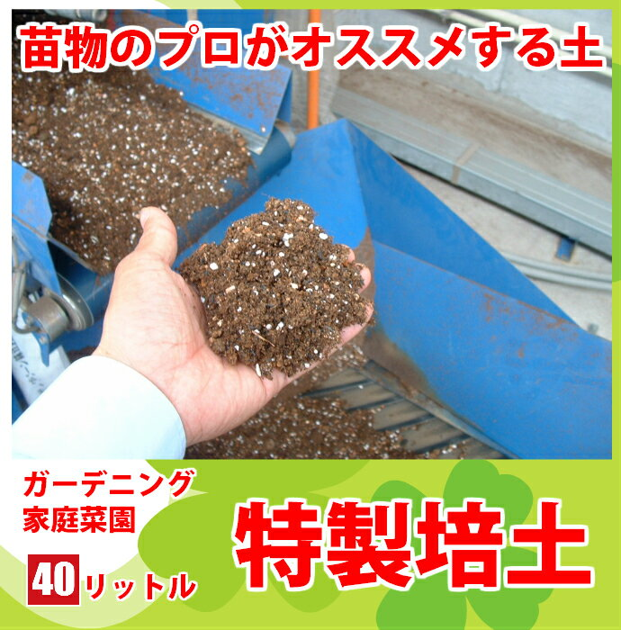 【てしまの土】【送料無料】【40リットル】プロがオススメする培養土農家さんと同じ土で育てようガーデニング・家庭菜園向け培土 野菜 土