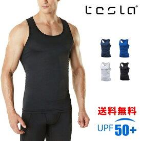 TESLA テスラ スポーツインナー タンクトップ メンズ コンプレッションウェア N15/MUN04