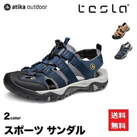 アティカ スポーツサンダル メンズ アウトドア サンダル ATIKA TESLA M106,M107,M108-NVY/CML