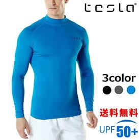 [テスラ]TESLA メンズ 水着 ラッシュガード [UVカット UPF50+・吸汗速乾] オーバーウェア MSR10