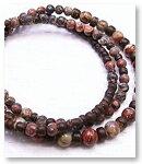 de-51-48 二種の碧玉 3重巻腕輪 天然石ブレスレット Mamma Miya[マンマミーヤ] 天然アクセサリー