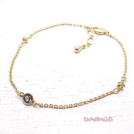 Ch*eM+W:D[チェムダブリュディー]Color of black diamond Bracelet ファッションアクセサリー de-47-ch-b7