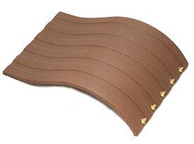 【ブレスレットホルダー】 合成皮革 約190x130mm 茶色 《1個》