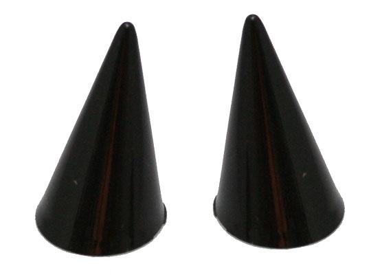 リングホルダー プラスチック 黒《1個》指輪用 ディスプレイ