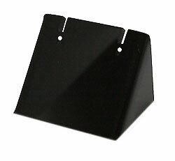 【ピアスホルダー】 アクリル ブラック Aサイズ 黒 約:30X25X25mm 《1個》イヤリングホルダー ピアススタンド イヤリングスタンド