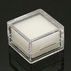 l-c-10 ルースケース クリア 約28x28x18mm 10個セット【小さなルースやパーツもすっきり収納!傷つきません!ルースやパーツ、ジュエリーを収納するプラスチックケースです。コレクターや業者の方にオススメ!】