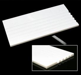 プラスチック ルーストレイ 白色 約200x100mm